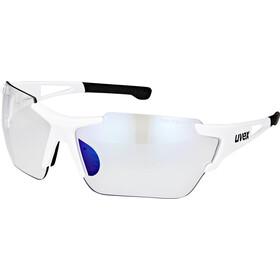 UVEX Sportstyle 803 Race VM Gafas deportivas, white/blue